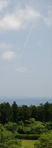 ロケット雲